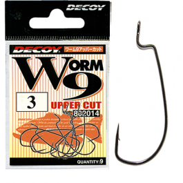 Крючок Decoy Worm 9 Upper Cut